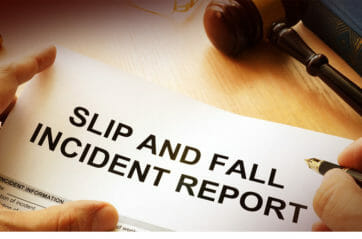 What You Should Do When You Slip & Fall?